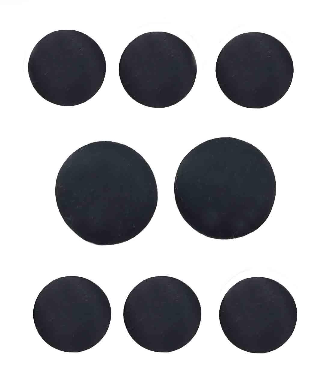 Vintage Jos A Bank Black Satin Tuxedo Jacket Buttons set Men's