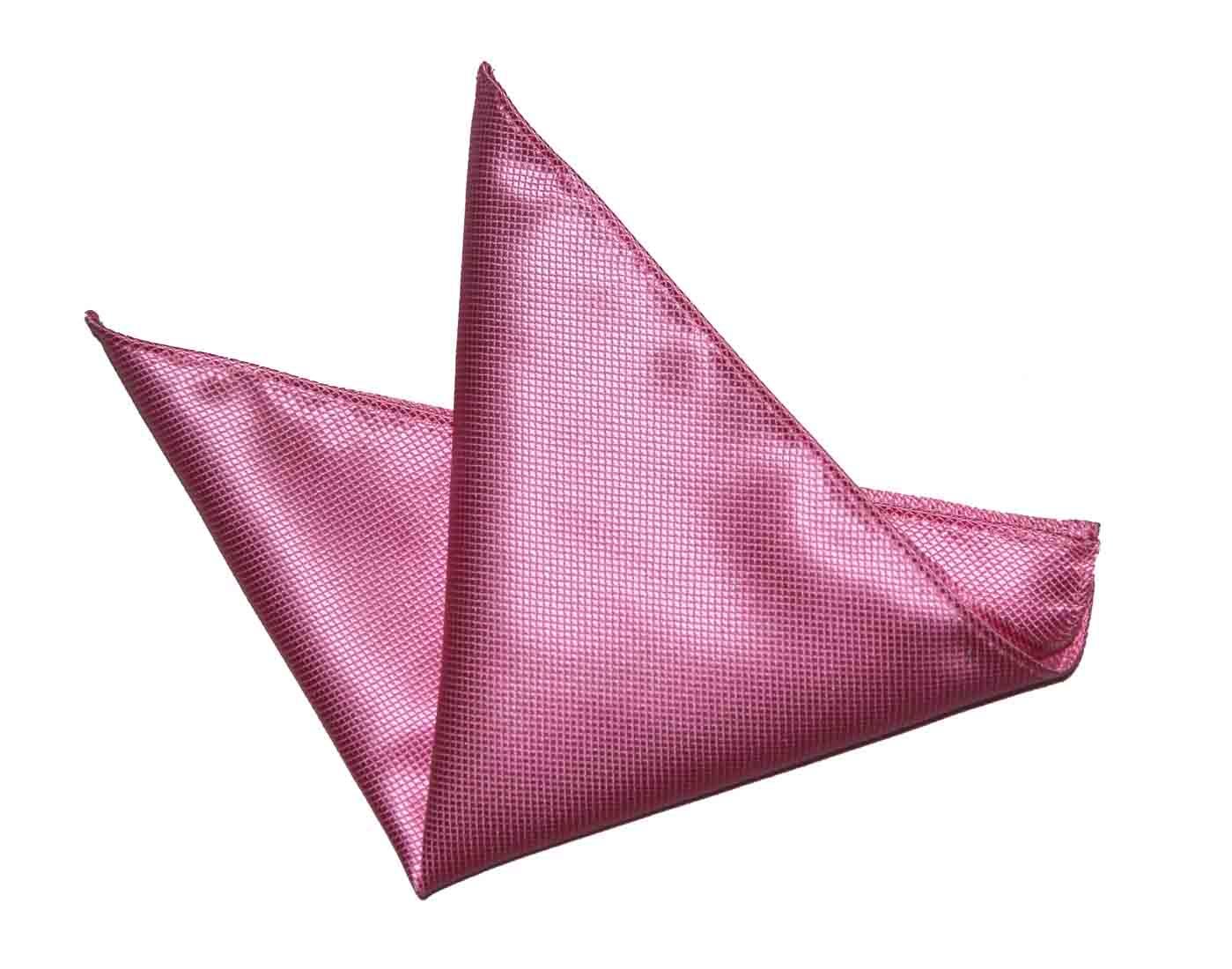 Gascoigne Pocket Square Silk Pink Men's