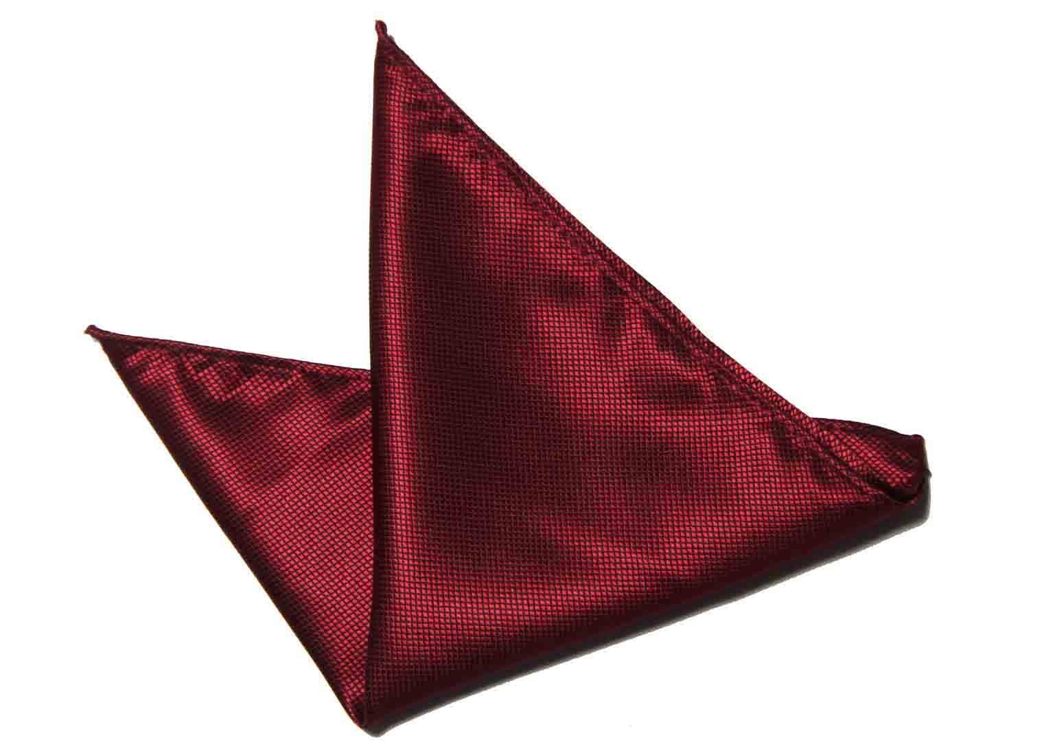 Gascoigne Pocket Square Silk Red Men's
