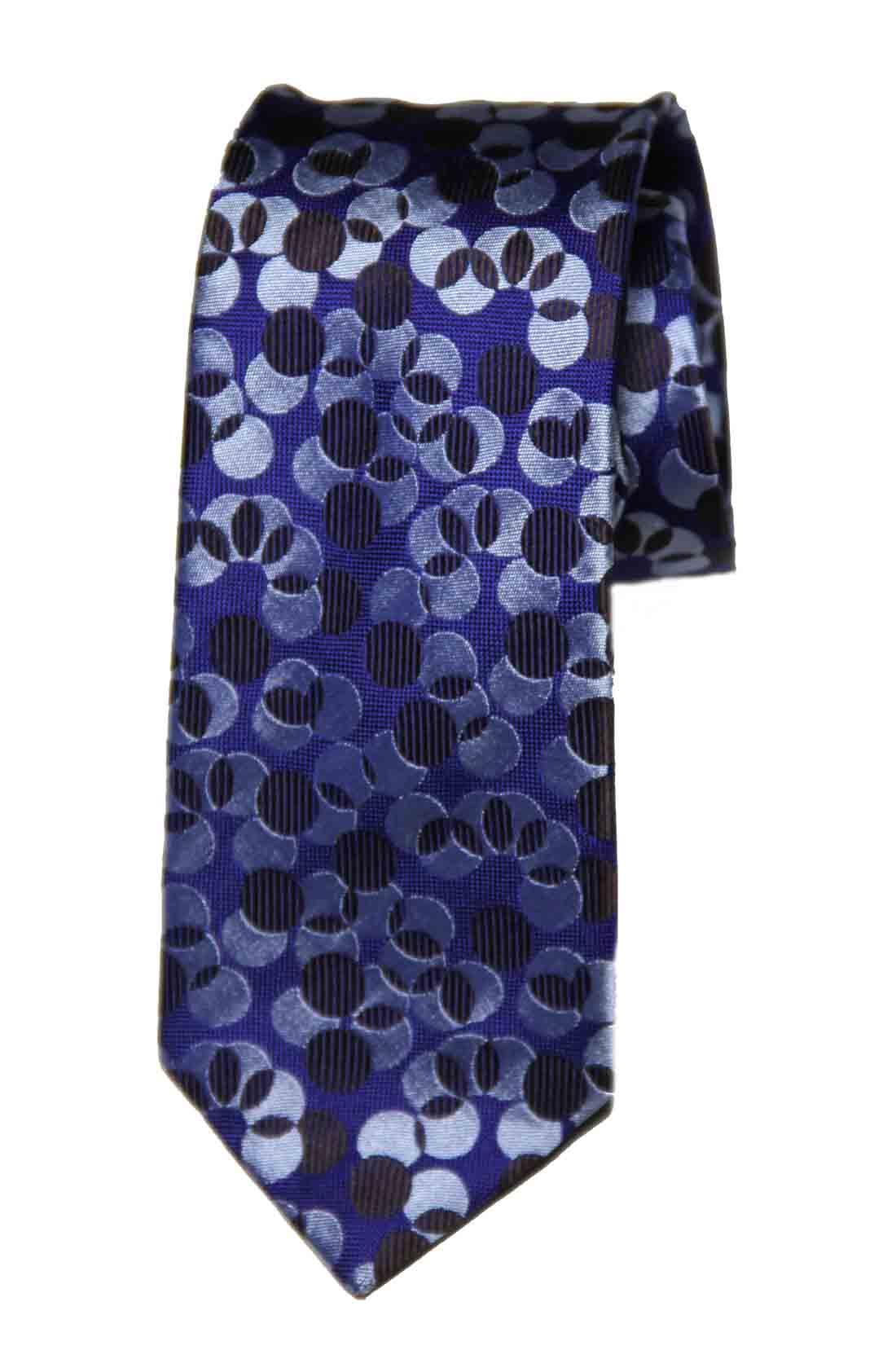 Thomas Pink Tie Silk Navy Blue Brown Lely Spot Men's