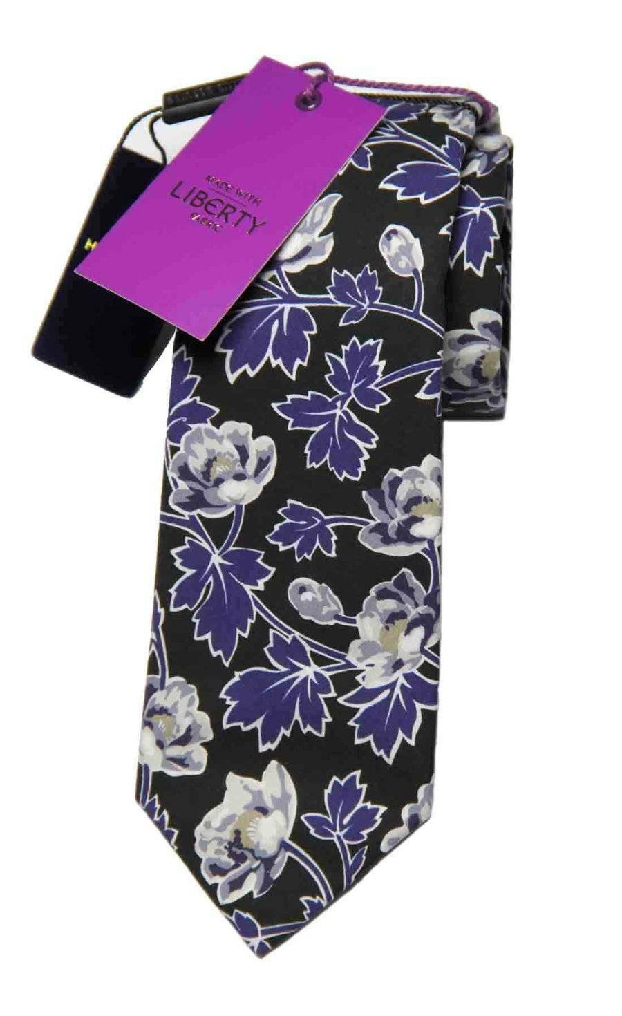 Holland Esquire Liberty of London Fabric Tie Cotton Floral Men's OS