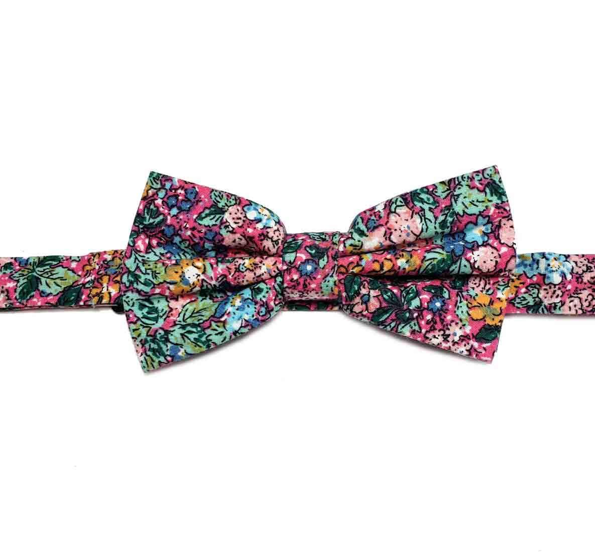 Gascoigne Bow Tie Floral Multicolor Cotton Men's OS