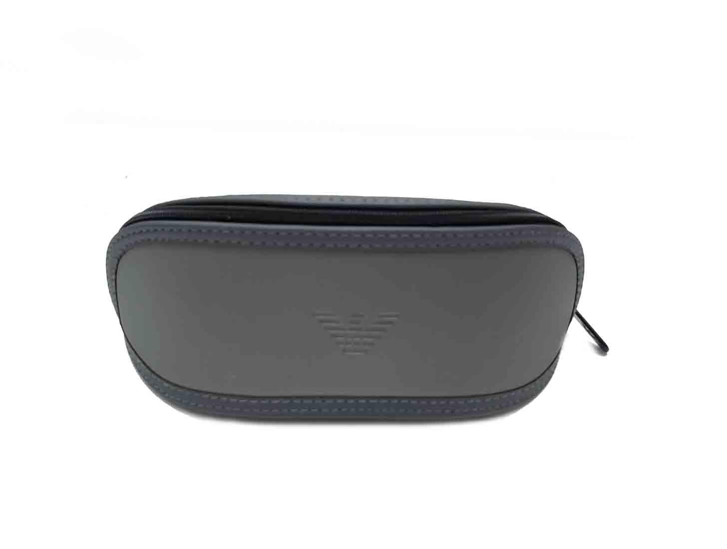 Emporio Armani Sunglasses Case Pouch Gray Men's