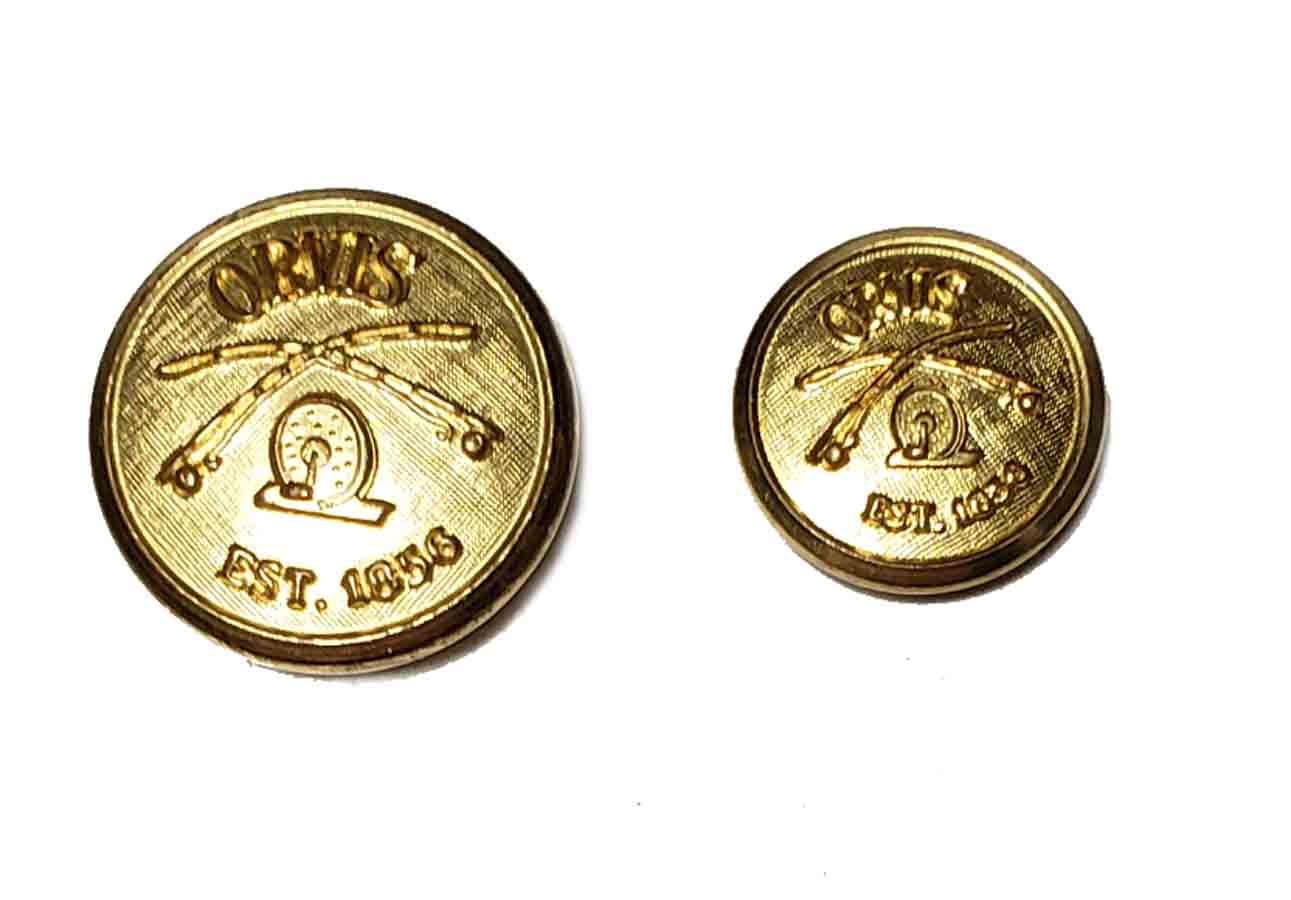 Waterbury Orvis Blazer Buttons Spare Replacement Buttons Gold Brass Shank Men's