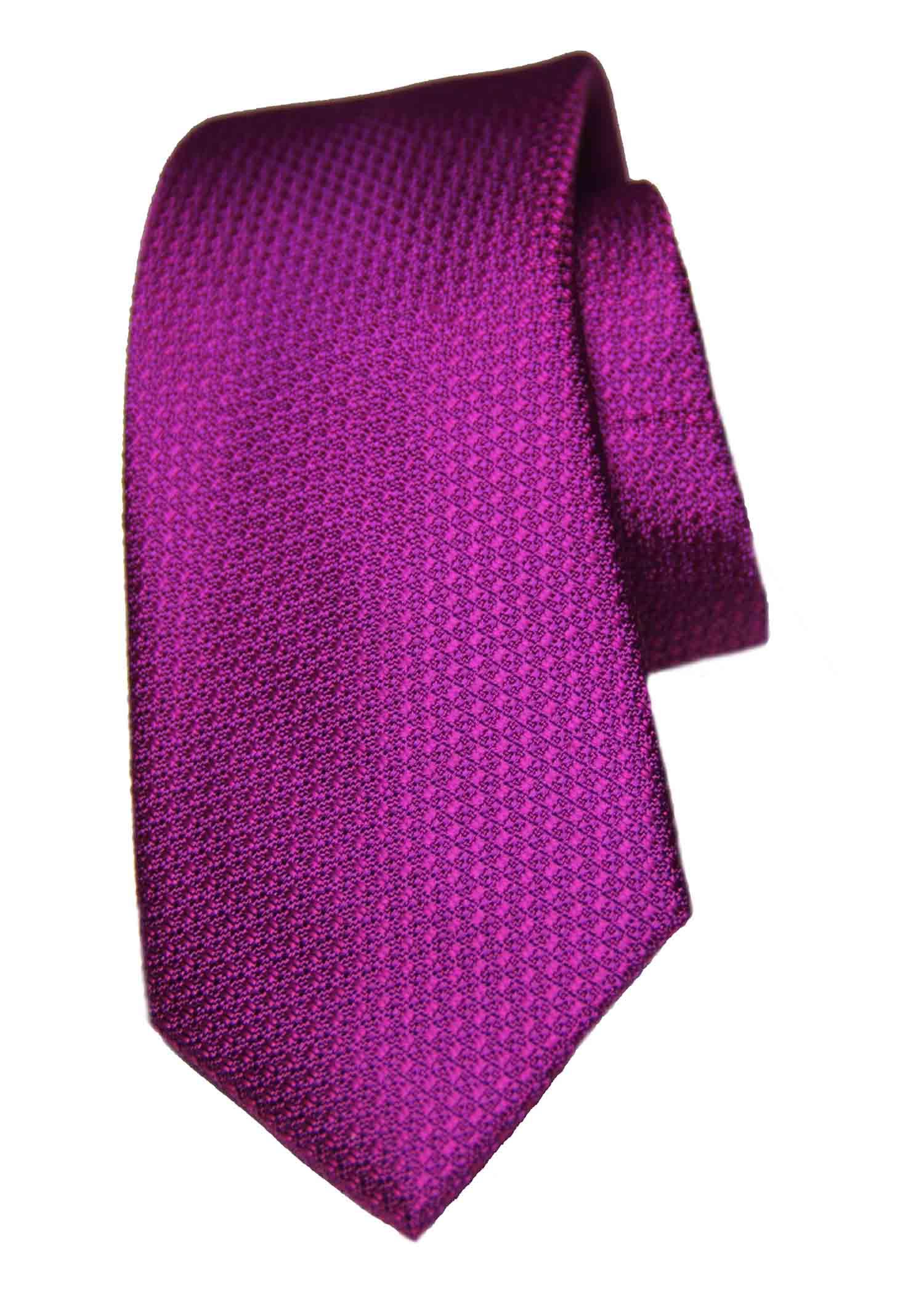 Ted Baker Silk Tie Purple Textured Men's
