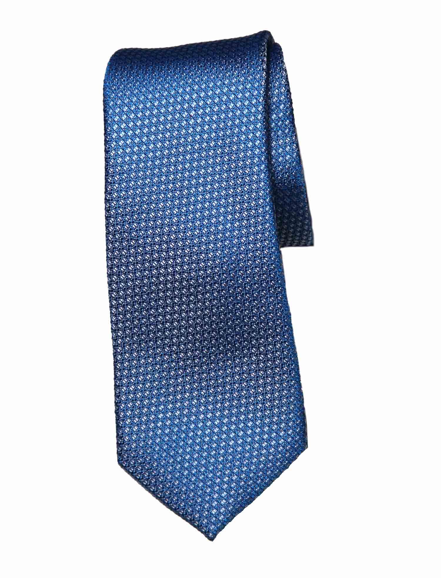 Ted Baker Tie Blue Silk Textured Men's