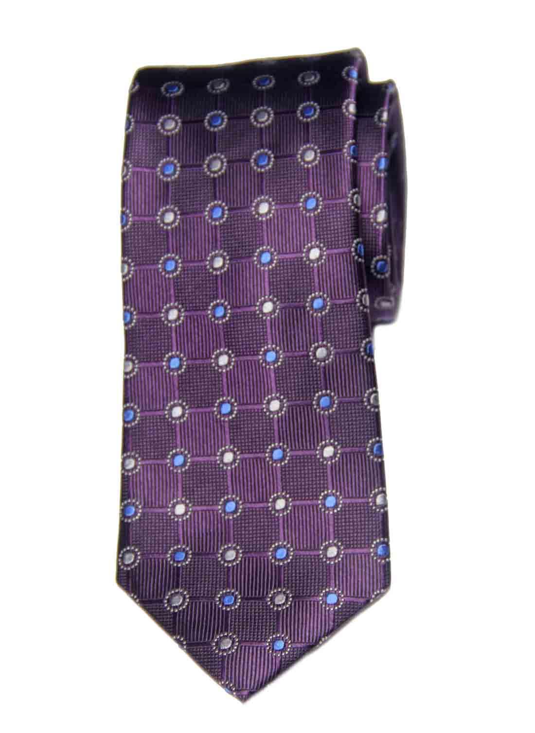 Jos A Bank Executive Collection Silk Tie Purple Blue Gray Geometric Men's