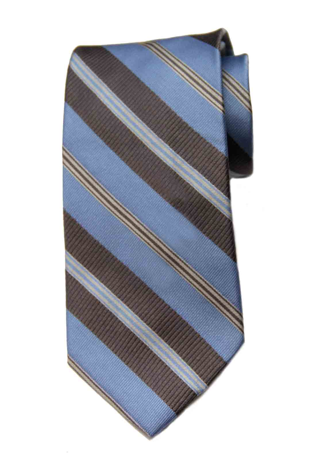 Joseph Abboud Italian Silk Tie Blue Gray White Men's
