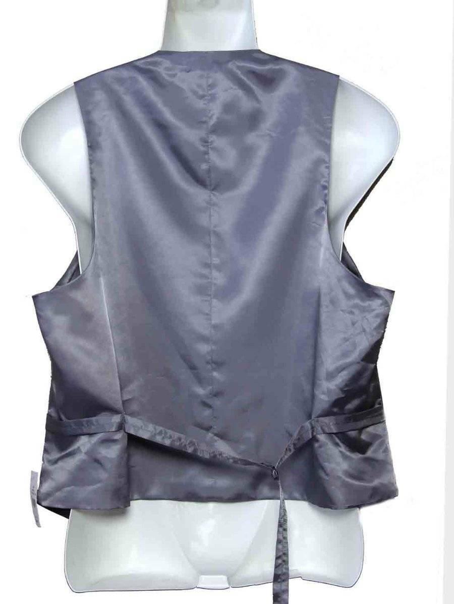 Kenneth Cole Suit Vest Gray Men's Size Large