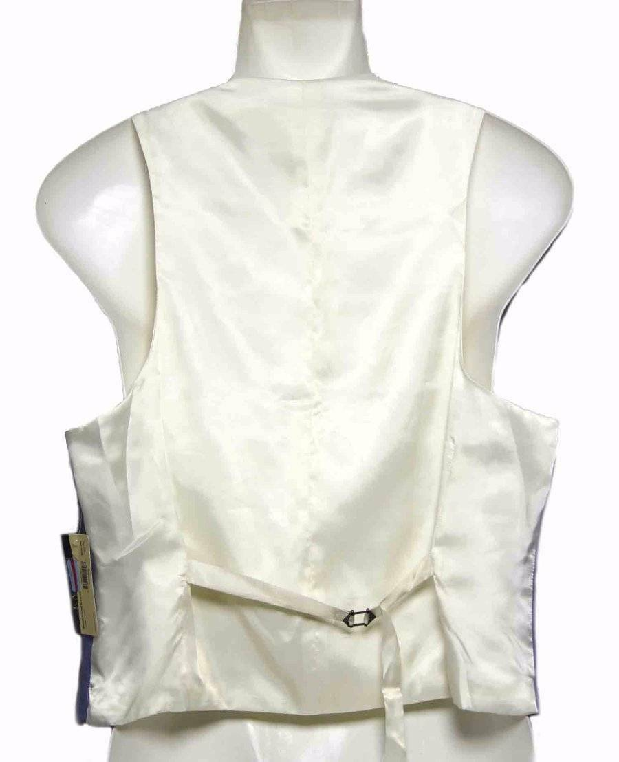 Lauren Ralph Lauren Cotton Vest Blue Cream Men's Size 40 R
