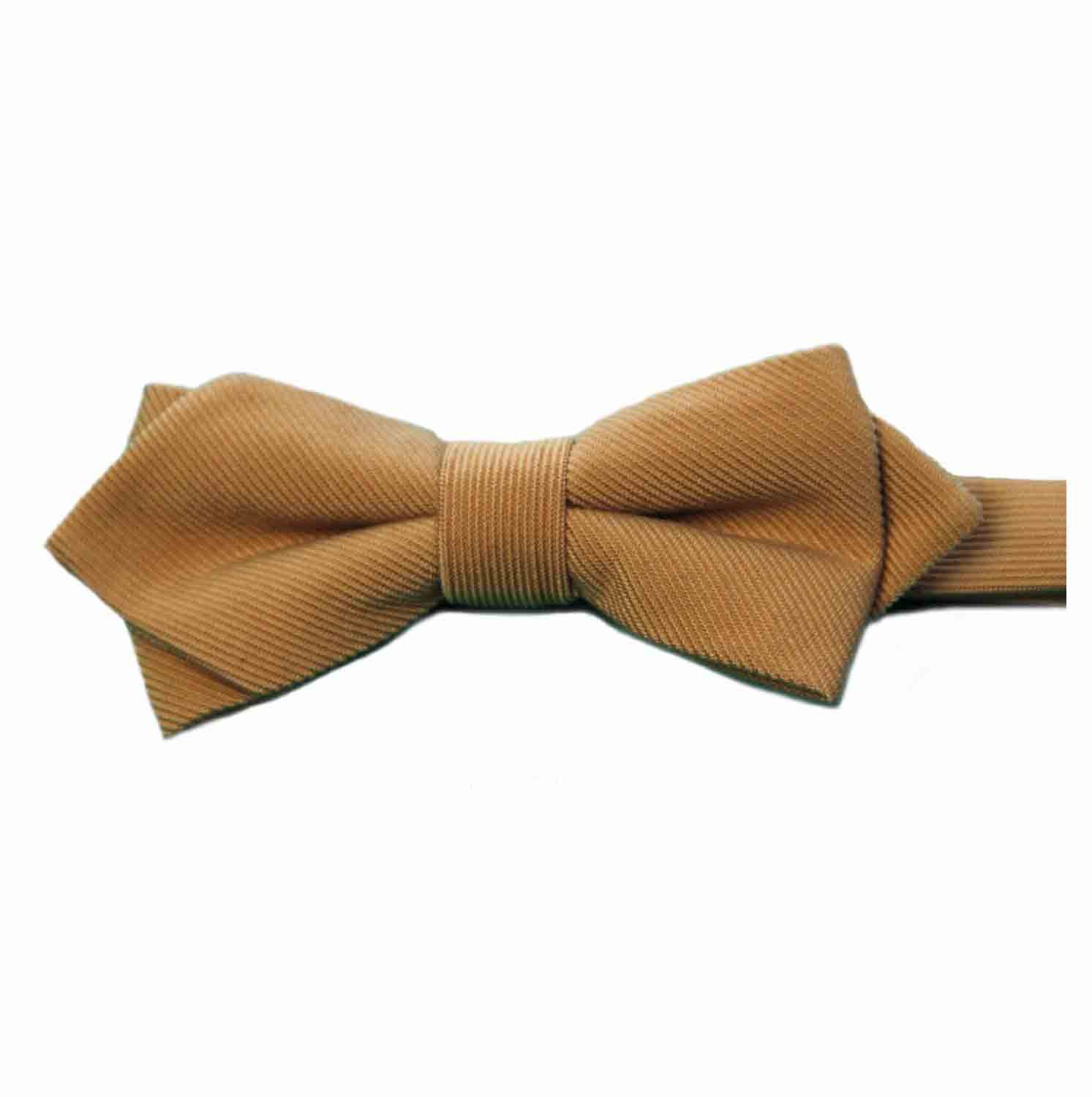 Tommy Hilfiger Bow Tie Camel Pre-Tied One Size Men's